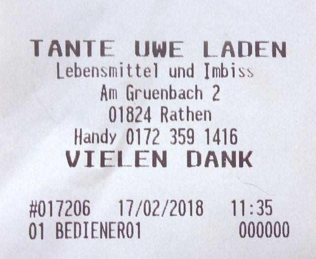 Rathen - Tante Uwe Laden