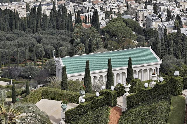 Baha'i World Centre International Archives Building – Baha'i Gardens, Haifa, Israel