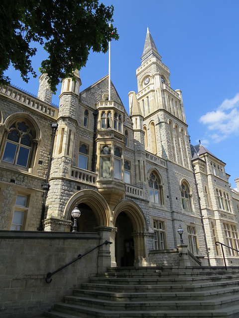 ealing town hall, london
