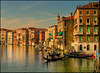 Feierabend in Venedig  -   Quitting time at Venice