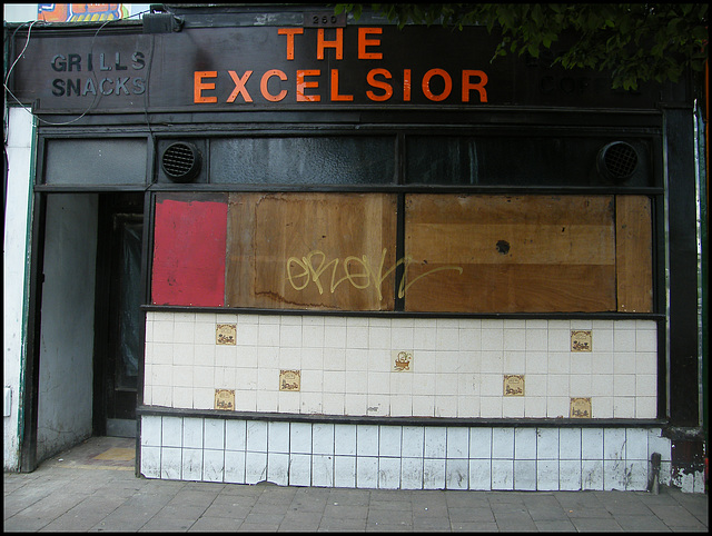 ex-Excelsior on Cowley Road