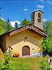 Oulx : la cappella rupestre di S.Andrea - (735 )