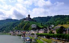 DE - Cochem - Blick auf die Reichsburg