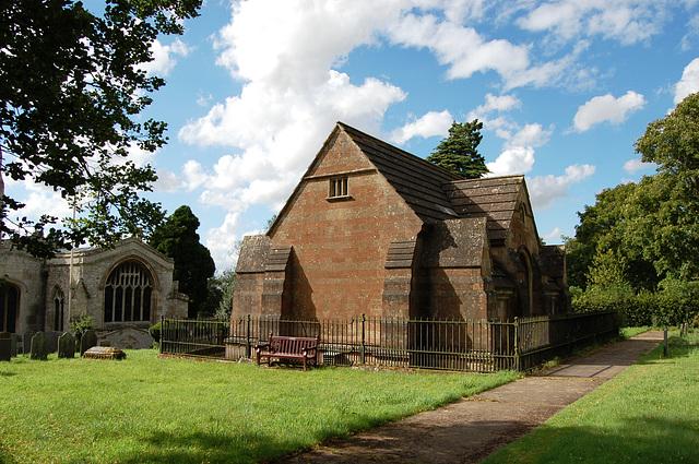 Dysart Mausoleum, Buckminster Churchyard, Leicestershire