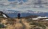 Hiking on Postvegen