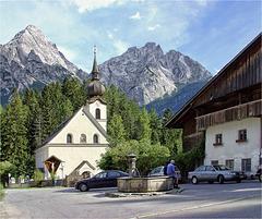 Kirche von Biberwier