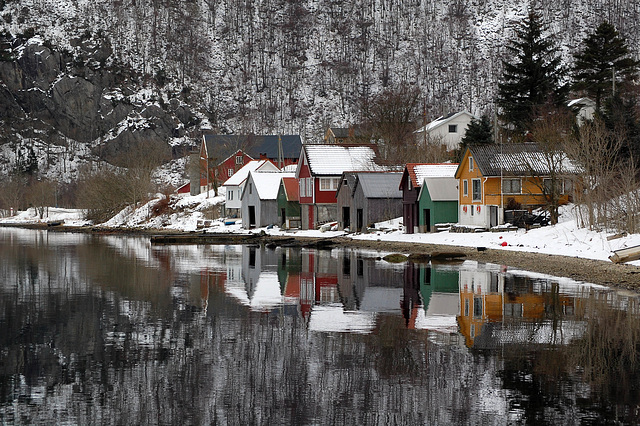 Winter in Dirdal