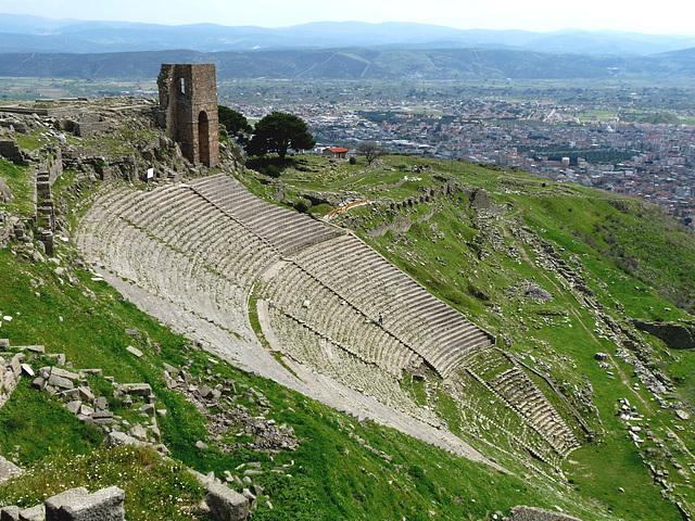 Pergamon- Hellenistic Temple