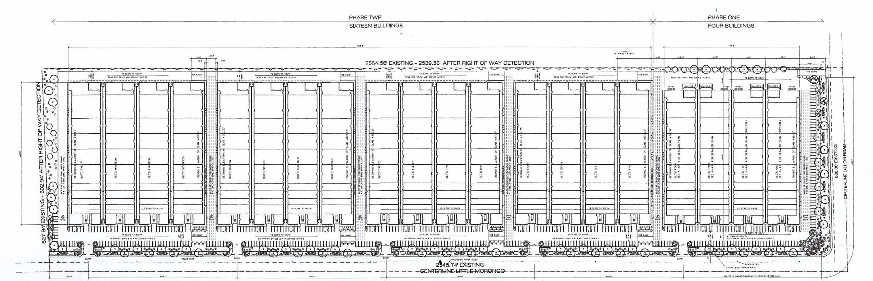 Site Plan Cultivation Site Dillon and Little Morongo