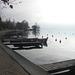 Le lac d'Annecy en automne