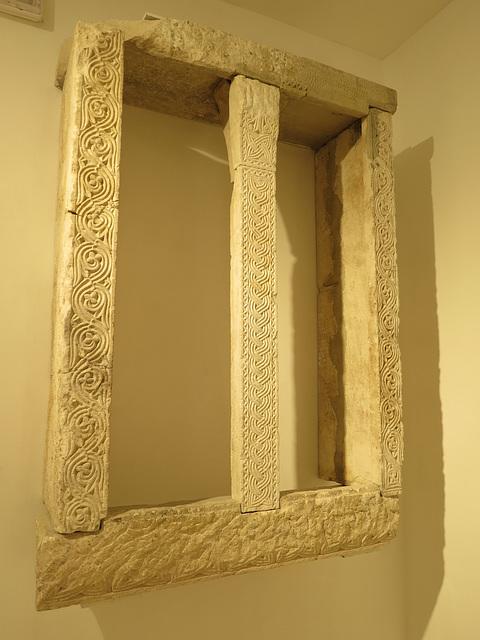 Musée de la ville de Split : fenêtre décorée.
