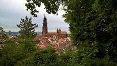 Freiburg im Breisgau, Altstadt, Münster, Schloßberg