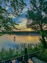 Evening at the lake / Abend am See (270°)