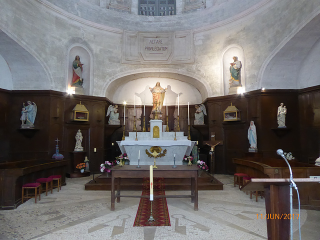 la chapelle de l'Hotel Dieu d'HAUTEFORT