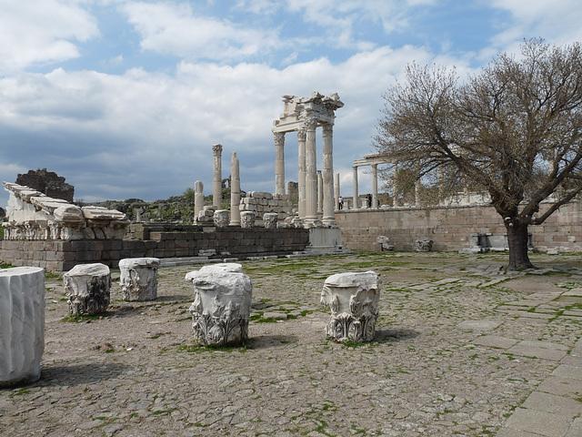 Pergamon- Trajan's Temple