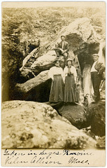 Hikers in Sages Ravine, Massachusetts, 1906