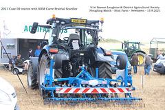 Case IH tractor 2021  with Prairial scarifier