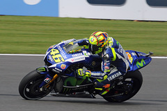 Rossi entering the wellington straight