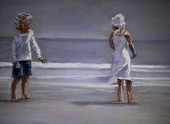 d'après une peinture de Nicolas Odinet, artiste contemporain