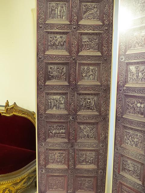 Musée de la ville de Split : fac similé des portes de la cathédrale, 2
