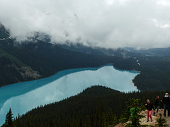 Beautiful Peyto Lake