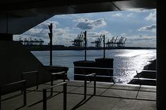 Hamburger Hafen (2xPiP)