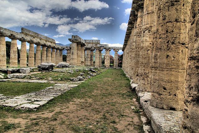 Neben diesem Hera-Tempel (Basilika)