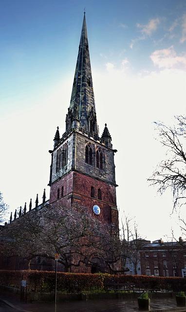 St Mary's Church ~ Shrewsbury