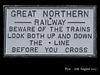 Great Northern Railway sign - Rye - 16.8.2007