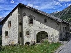 House in Guarda Switzerland