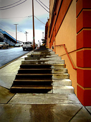 Second St. stairs