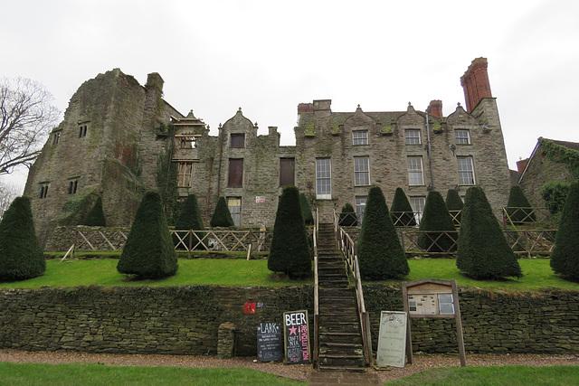 hay on wye castle , wales