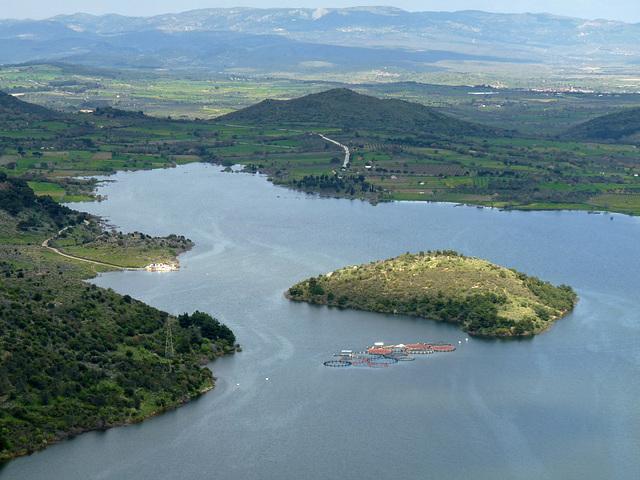 Pergamon- Kestel Cayi Reservoir