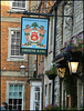 Woodstock Arms pub sign