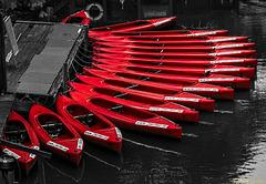 Die rote Flotte - bereit zum Auslaufen!
