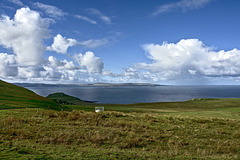 Big Sky over Loch Snizort towards the Waternish Peninsula and The Little Minch - Isle of Skye