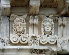 Pergamon- Sculpture at Trajan's Temple