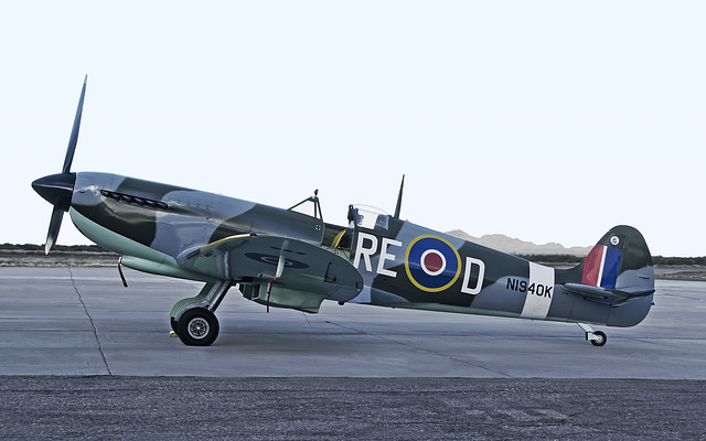 Spitfire N1940K (Rework)