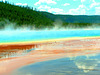 Grand Prismatic Hot Spring - Yellowstone National Park