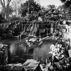 pinhole waterfall