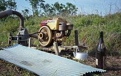 Running water pump