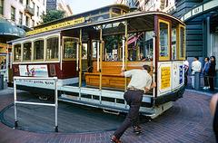 San Francisco - cable car - 1996