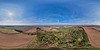 Kirkton Hill and Tower - Aerial 360 Panorama 08-04-2017a