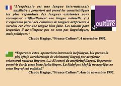 Claude Hagège, France-Culture