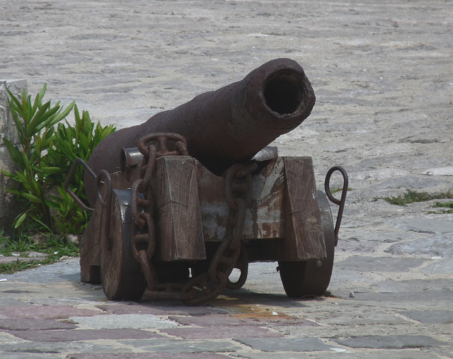 Old Cannon at Our Lady of the Rocks