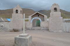 Bolivia, The Church in Chuvica Village