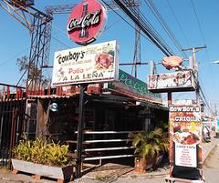 Cowboy's coca-cola at Panama tavern