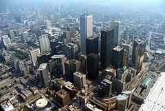 Old Toronto - skyscrapers - 1986