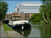 Thames moorings at Osney