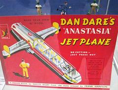 'Anastasia' - Colonel Dare's Space ship.